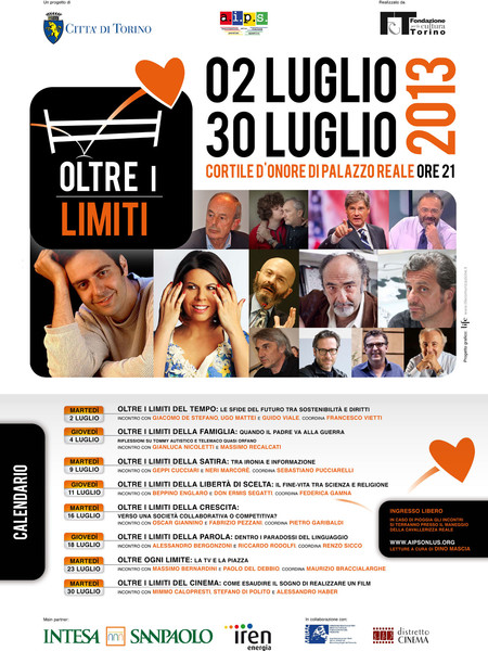 Rassegna Oltre i limiti. II Edizione, Palazzo Reale, Torino