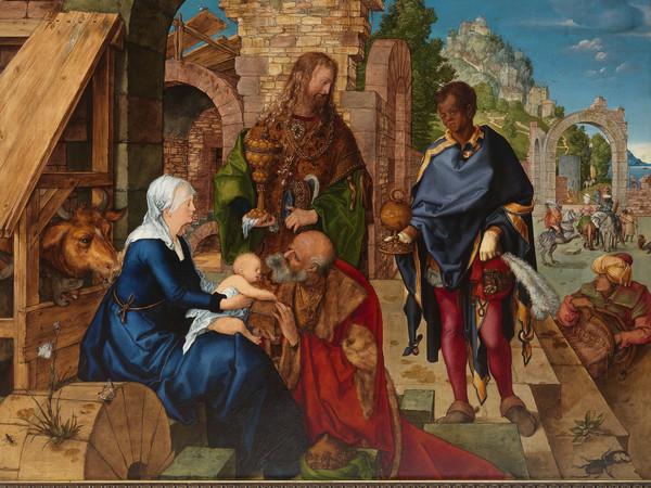 Albrecht Dürer, L'Adorazione dei Magi. Firenze, Gallerie degli Uffizi