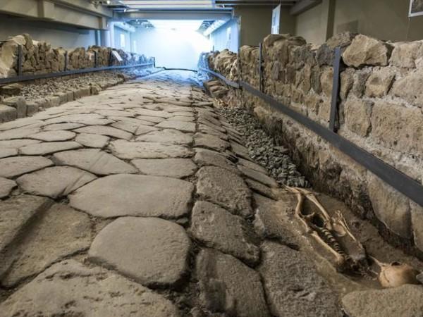 Alle porte della Capitale, nasce una galleria archeologica sotterranea<br />