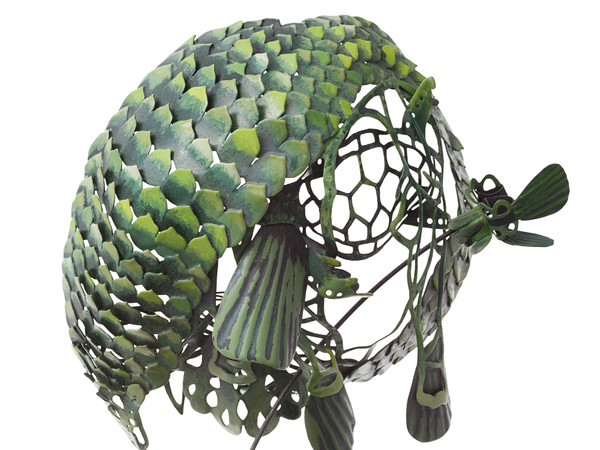 Hanna Hedman, <em>Creazione dalle tonalità verdi</em>