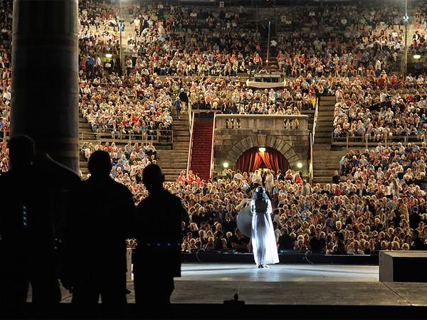 Foto dall'opera Aida