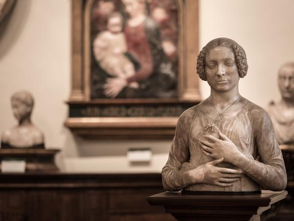 Andrea del Verrocchio, Dama col mazzolino, Firenze, Museo Nazionale del Bargello