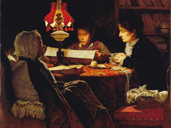 Odoardo Borrani, Il dispaccio del 9 gennaio 1878