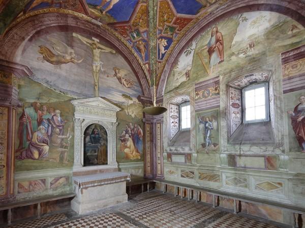 Cappella dell'Assunta, Duomo di Spoleto