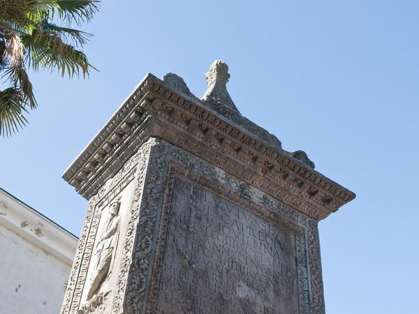 Gallerie Lapidarie, il ricordo di Quinto Etuvio Capreolo