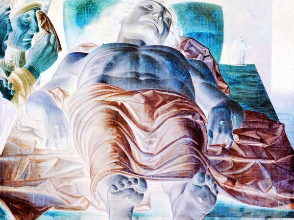 Francesco Pignatelli, Cristo Morto, stampa lambda su Kodak Endura montata tra Dbond e Plexiglas