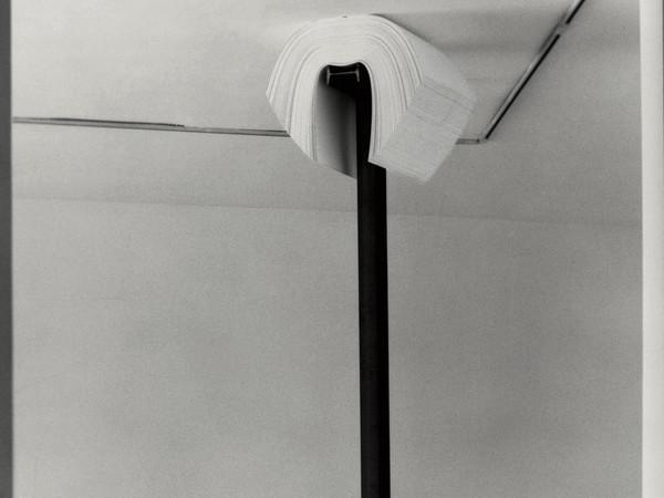 Jannis Kounellis, Senza titolo, 2005, particolare parte superiore