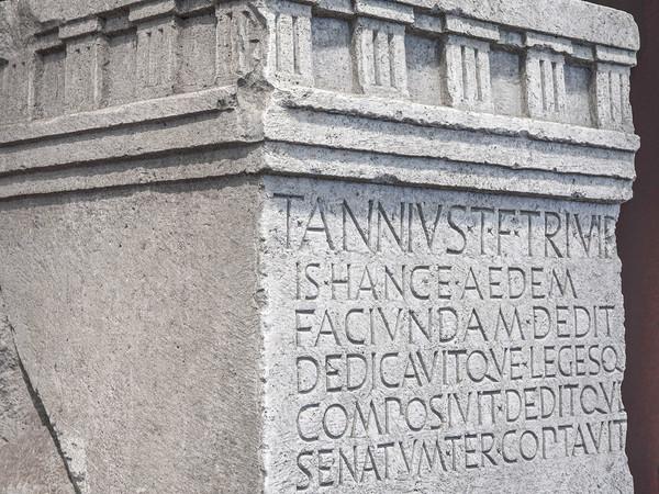 Iscrizione di Tito Annio