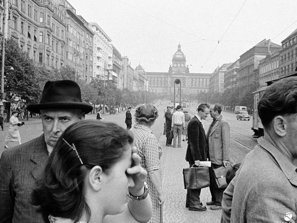 Caio Mario Garrubba, Praga, 1957
