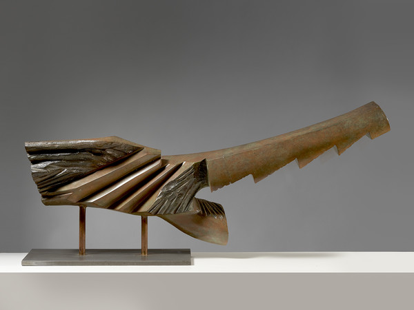 Guido_Pinzani, Nuotatrice, 1990, bronzo, esemplare unico, cm. 42x93x18