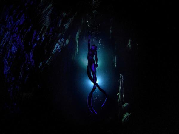 """Sebnem Coskun (Turchia), """"Grotta di Gilindire. In un singolo respiro"""" ©Sebnem Coskun / Stenincontest.com"""
