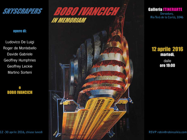 "Bobo Ivancich ""The Chrysler Building""<br />"
