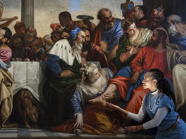 Paolo Veronese Cena in casa di Simone Fariseo, 1555-1556. Galleria Sabauda, Torino