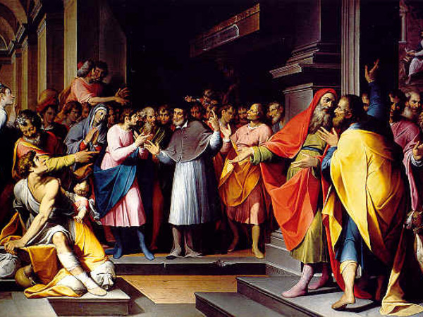 Disputa di Sant'Ambrogio e Sant'Agostino