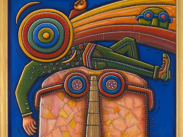 Alfredo Sosabravo, El Dia del cometa, 2005, cm 189x195.
