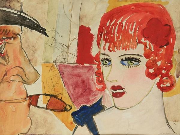 Mario Sironi, 19 disegni, Carta con cornice, Collezione Klien
