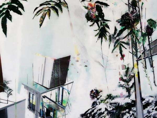 Muriel Rodolosse, Laboratoire de l'extérieur, 2016, cm. 190x140