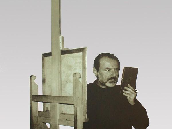 Michelangelo Pistoletto, Tra specchio e tela, part., Dono di Michelangelo e Maria Pistoletto