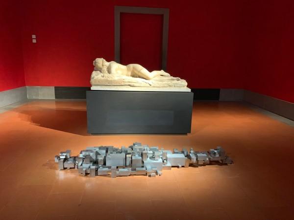 Antony Gormley, Settlemen, Galleria degli Uffizi, Firenze