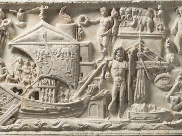 Collezione Torlonia, Rilievo con scena di porto