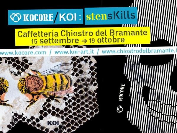 #StensKills, Caffetteria Chiostro del Bramante, Roma