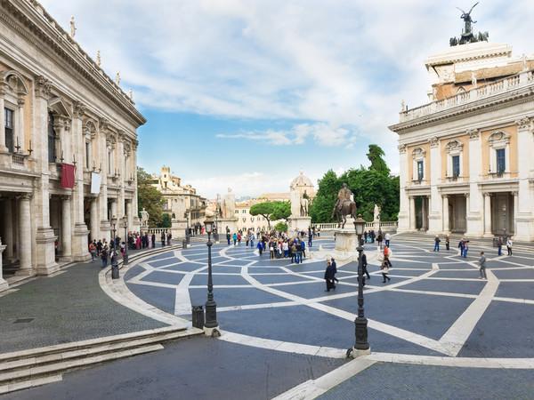 Piazza del Campidoglio, Roma | Foto: Catarina Belova - Roma