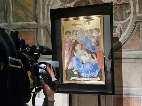 Domenico di Bartolo Ghezzi, Madonna Umiltà