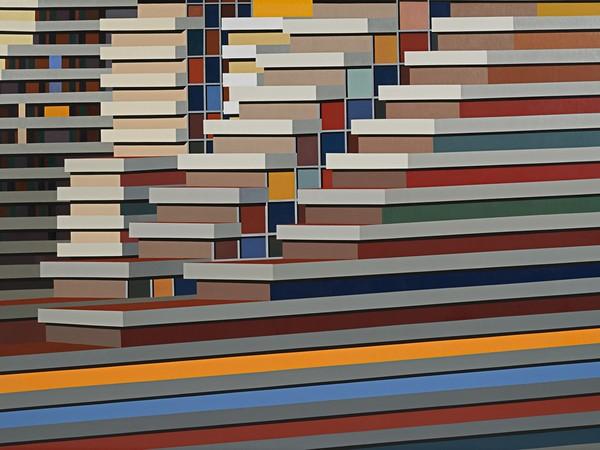 Marco Petrus, M21, 2016, olio su tela, cm 180x250