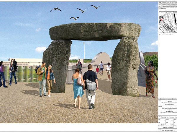 Jeremy Deller, Proposal for the Olympic Park Gateways, 2010