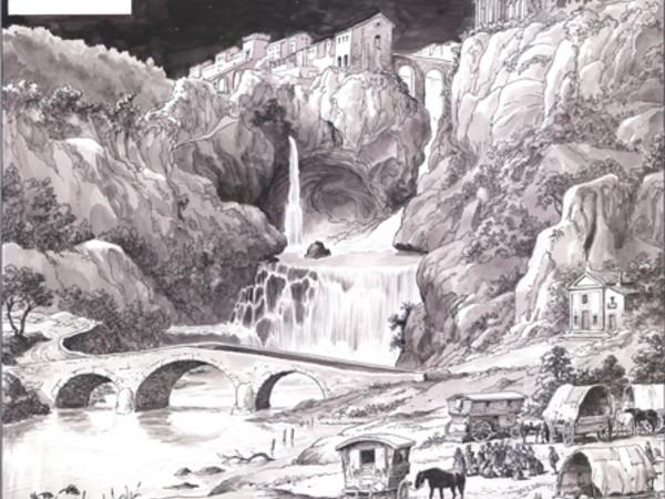 Disegno di Milo Manara