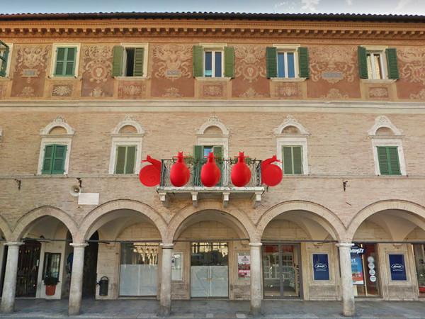 Zona Rossa. Cracking Art, Ascoli Piceno