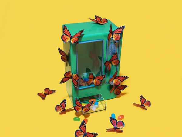 Perry Colante, Le ingorde, stampa lambda + plexiglass, cm. 40x40. Where Art meets Design