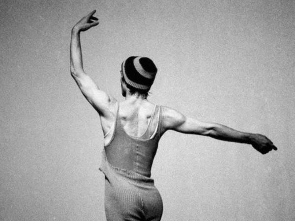 Silvia Lelli e Roberto Masotti, Rudolf Nureyev, rehearsal, New York, 1981. Gelatin silver print, 27x40.5 cm. Edition 1/5