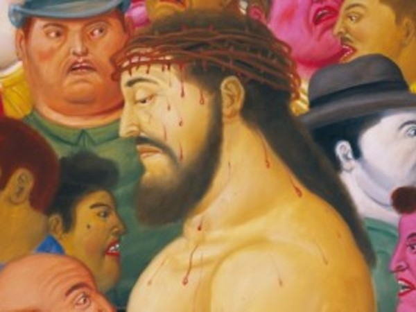 <strong>Botero. Via Crucis. La Passione di Cristo</strong>, Palazzo delle Esposizioni, 13 febbraio - 1 maggio 2016 | Fernando Botero, <em>Jes&uacute;s y la multitud</em>, 2010, Museo de Antioquia, Medell&iacute;n<br />