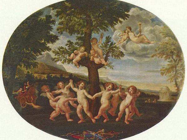 Francesco Albani. La Danza degli Amorini, Pinacoteca di Brera