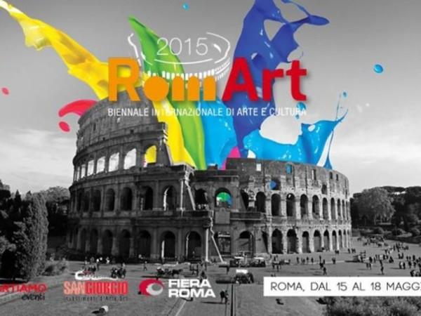 RomArt 2015 I Biennale Internazionale di Arte e Cultura Contemporanea