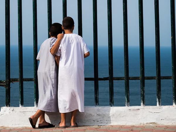 Algeri, il mare dalla medina