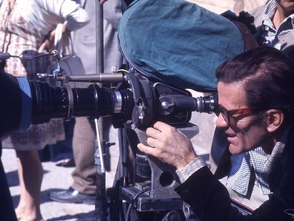 """Foto di scena dal set del film """"Il fiore delle Mille e una notte"""", 1974"""
