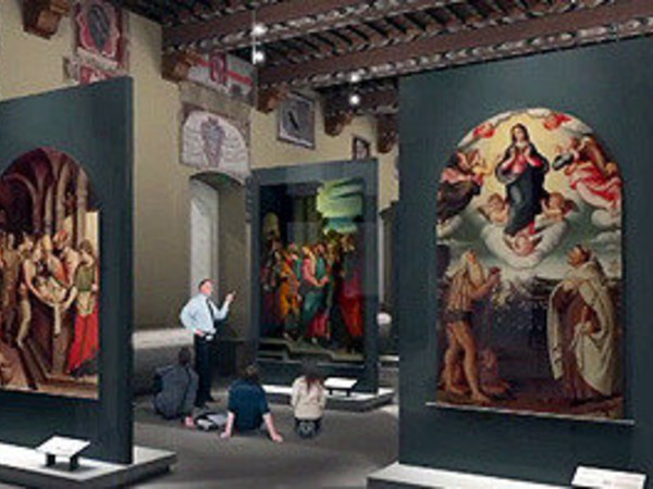 I capolavori tornano a casa, Palazzo Pretorio, Prato