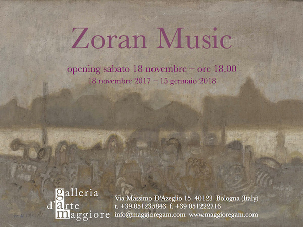 Zoran Music, Galleria d'Arte Maggiore G.A.M., Bologna