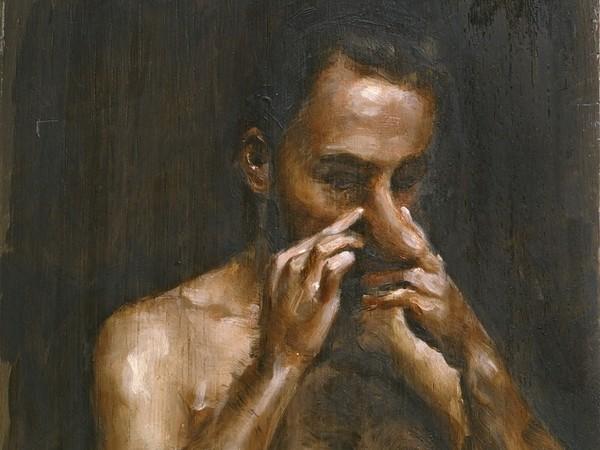 Michael Borremans, <em>The Measure II</em>, 2007 | &copy; Collezione Giuseppe Iannaccone, Milano<br />