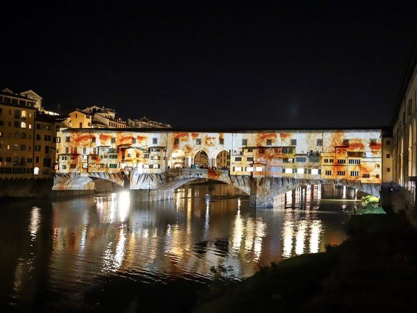 Leonardo, Ponte Vecchio, F-light - Firenze Light Festival