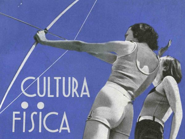 Copertina di libro realizzata da Poggi Longostrevi, Cultura fisica della donna, 1933 | Courtesy of Fondazione Cirulli