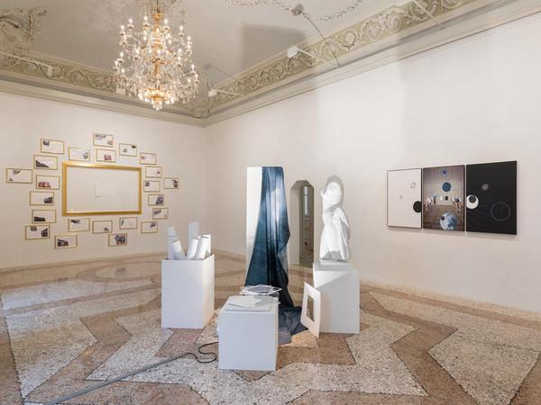 Giulio Paolini. Il Mondo Nuovo, Massimo De Carlo, Milano. Installation view