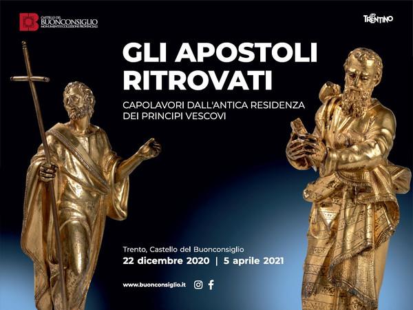 Gli apostoli ritrovati, Castello del Buonconsiglio, Trento