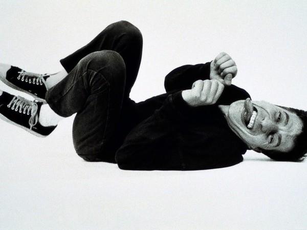 Maurizio Cattelan,  Untitled, 1995. Photographic print 125 cm x 190 cm.