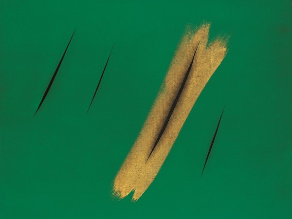 The Wall. History|Art|Multimedia, Lucio Fontana