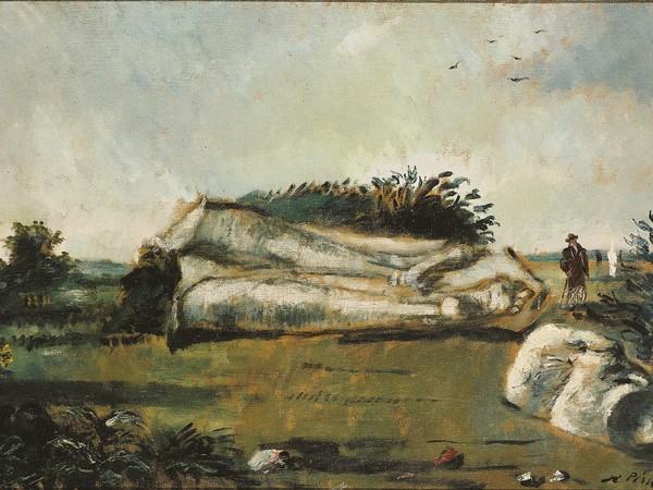 Filippo de Pisis, L'archeologo, 1928. Genova, Galleria d'Arte Moderna Credits: Comune di Genova - Musei di Nervi - Galleria d'Arte Moderna