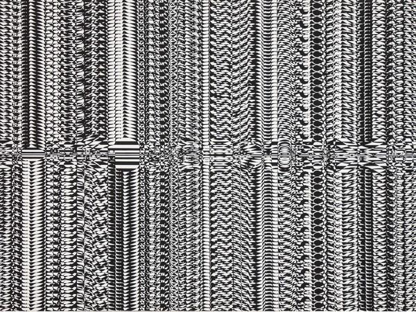 Claudio D'Angelo, TMS.U2, 1968, acrlico su tela, 90x160 cm.