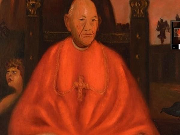 Scipione (Gino Bonichi), Ritratto del cardinale decano